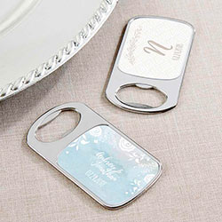 Personalized Silver Bottle Opener - Ethereal