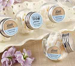 Personalized Mini Glass Favor Jars  - Little Prince (Set of 12)