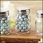 Personalized Printed Mini Mason Jar - To the Moon & Back (Set of 12)