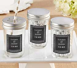 Personalized Mason Jar - Chalk (Set of 12)