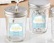 Personalized Mason Jar - To the Moon & Back (Set of 12)