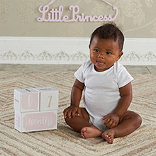 My First Milestone Princess Baby Age Blocks